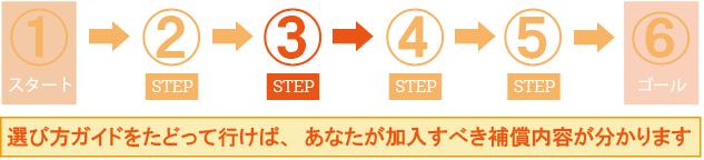 ステップ3:車両保険を選ぶ!